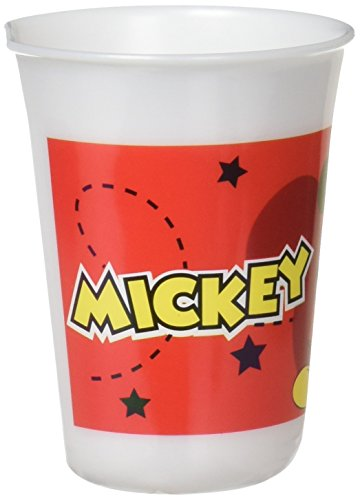 Trudeau 6022360 Gobelet Mickey Mad About 225ml, Polypropylène, Multicolore, 20x15x5 cm