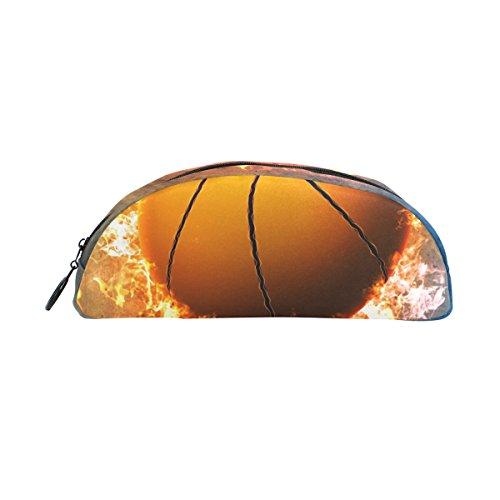 ZZKKO - Bolígrafo de baloncesto con cremallera para niños, niñas, adolescentes, adultos