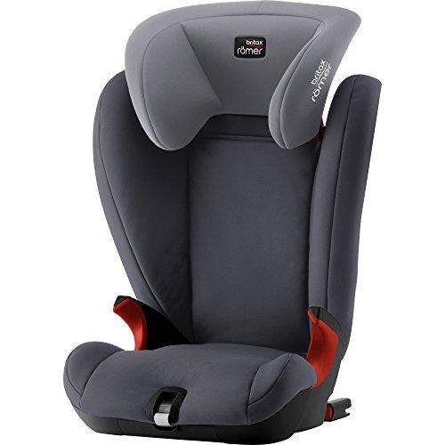 Britax Römer Kindersitz 3,5 - 12 Jahre I 15 - 36 kg I KIDFIX SL BLACK SERIES Autositz Gruppe 2/3 I Storm Grey