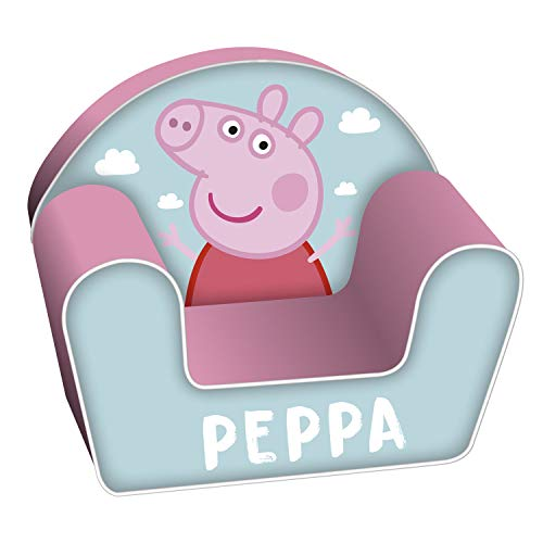 ARDITEX PP13036 Sofá Desenfundable de Espuma 42x52x32cm de EONE-Peppa Pig