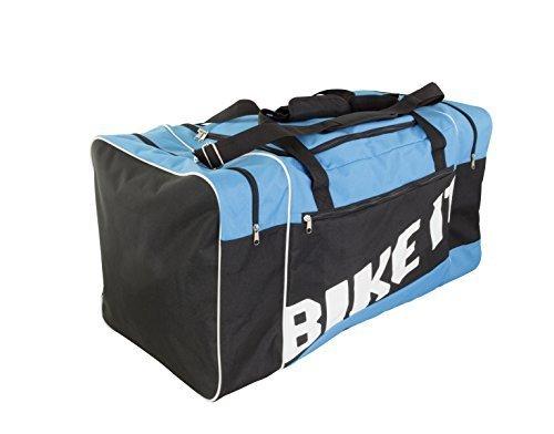 BIKE IT Motocross Seesack 90l blau schwarz