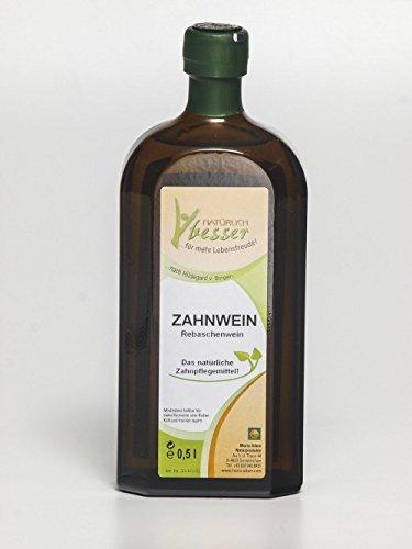 Zahnelixier- Zahnwein(Rebaschen-Lauge) 500ml