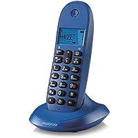 motorola C1001LB+ - Teléfono (Teléfono DECT, 50 entradas, Identificador de Llamadas, Verde)