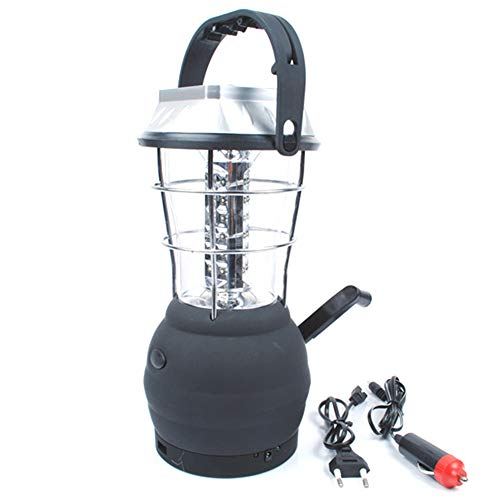 Farol LED para camping, lámpara solar LED, lámpara de camping de 36 ledes, funciona con pilas, lámpara de emergencia para cortes de energía, senderismo, emergencias, apagones, etc.