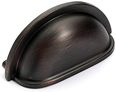 Dynasty Hardware P-953-10B-10PK Cabinet Hardware Bin Pull, Oil Rubbed Bronze, 10-Pack
