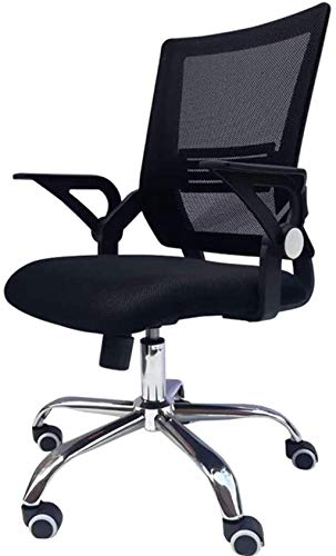 XUANFEI Silla de Oficina Silla de Oficina para sillas de Oficina Silla de Escritorio de Oficina, Malla Asiento tapizado, Giro de 360 Grados
