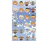 Jerry Fabrics Toalla Playa Frozen Emoji