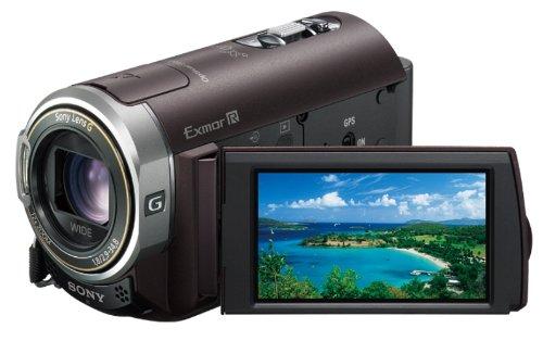 ソニー SONY デジタルHDビデオカメラレコーダー CX370V ボルドーブラウン HDR-CX370V/T
