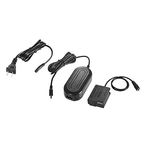 DMW-AC8 AC Power Adapter Supply Camera carregador + DMW-DCC8 DC Coupler Kit (DMW-BLC12 de substituição) para Panasonic DMC-FZ200, FZ1000, G5, G6, G7, Lumix GX8, G85 Câmera digital