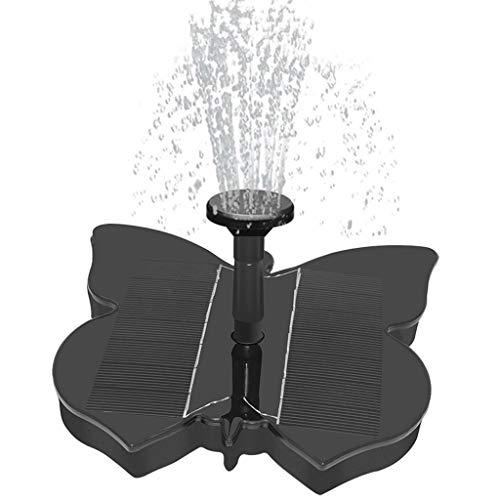 N/P - Aspersor con forma de mariposa para jardín, piscina, paisaje, decoración, bomba solar de agua