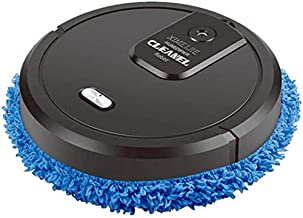 Robot Vacuum Cleaner, Rechargeable Wet and Dry Powerful Vacuum Cleaner, Quiet Household Cleaning Tool for pet Hair and Har...