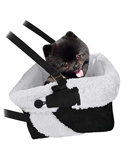 Cozy Boost Dog Booster Seat with Clip-On Leash
