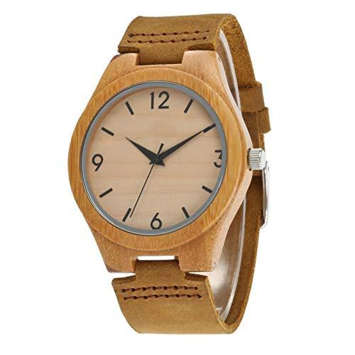 QHG Reloj De Temperamento Simple, Reloj De Cuarzo De Alumnos Luminoso De La Niebla No De Agua, Reloj Unisex (Size : A)