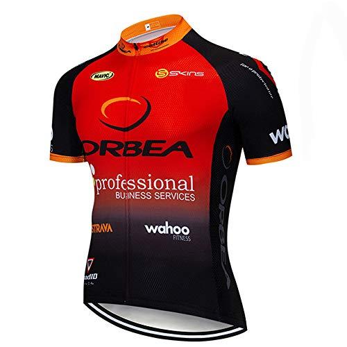 Miloto Cycling Jersey Team Bike Top Shirts Men Biking Clothing(XX-Large)
