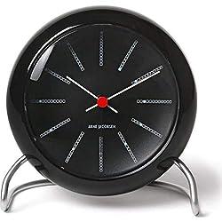 Arne Jacobsen Bankers Alarm Clock   Black