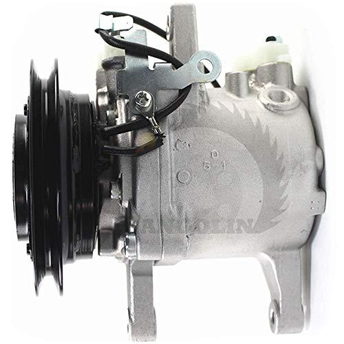 Compresor de aire acondicionado M108S M5040 M7040 SVO7E 3C581-97590, compresor de aire acondicionado para compresor de aire...