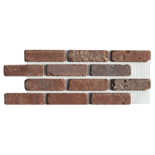 Brickwebb Thin Brick Sheets - Flats (Box of 5 Sheets) - Boston Mill