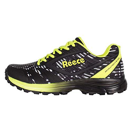Reece Revolution X-Blade Hockey Schuhe schwarz-gelb schwarz-gelb, 42.5 (UK 8.5)