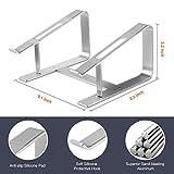 Seenda Elevator Laptop Stand Aluminum Desktop Stand for Laptops