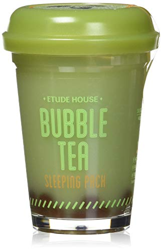 Etude house Bubble Tea Sleeping Pack Green Tea 100g