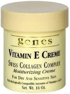 Genes Vitamin E Creme (16 oz.) (pack of 6)