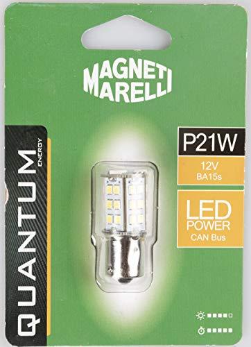 MAGNETI MARELLI 070.0000009502 P21W enkele lamp voor auto LED 33SMD 12 V sokkel BA15s