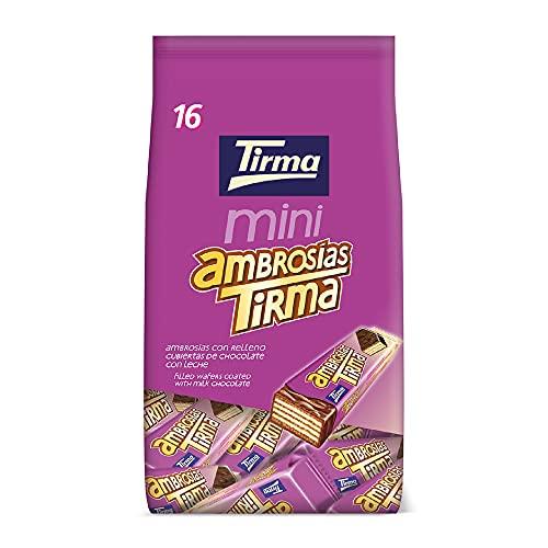 Tirma Ambrosía Mini Chocolate Con Leche (16 Uds. X 13,5g), 216 Gramo