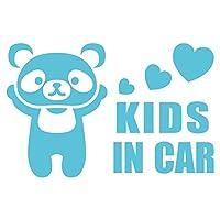 imoninn KIDS in car ステッカー 【シンプル版】 No.12 パンダさん (水色)