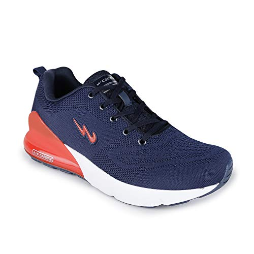 Campus Men's North Navy/Red Running Shoes-7 UK (41 EU) (5G-677)