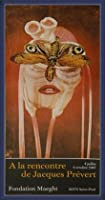 ポスター ジャック プレヴェール Papillon 1987 額装品 ウッドベーシックフレーム(ブルー)