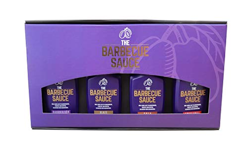 THE BARBECUE SAUCE PROBIERSET: Rauchig Süß. Sweet Chili, Cola, Glaze