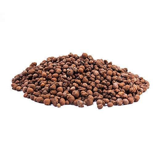 Cultivalley 10L Blähton 4-8mm - Hochwertiges Hydrokultur Tongranulat Rund & Grob - Perfekt für Topfpflanzen als Pflanzton & Drainage