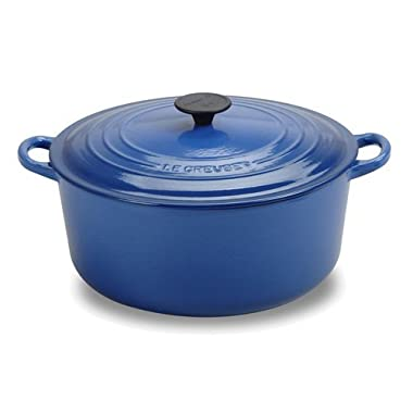 Le Creuset Enameled Cast-Iron 9-Quart Round French Oven, Cobalt