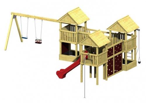 Winnetoo Pro Spielturm Variation 10 - öffentliche Spielanlagen