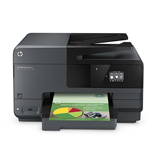 HP OfficeJet Pro 8610 Wireless All-in-One Photo Printer with Mobile Printing, HP Instant Ink & Amazon Dash Replenishment ready (A7F64A) - Discontinued by Manufacturer (Renewed)
