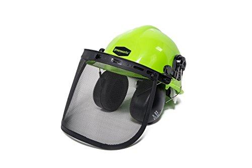 Greenworks Chainsaw Safety Helmet with Earmuffs GWSH0