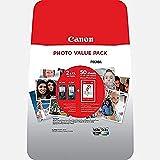 Canon PG-560XL +CL-561XL - Pack con Cartucho de Tinta Original BK, 50 Papel fotográfico y Color XL para impresoras de inyección de Tinta Pixma TS5350, TS5351, TS5352, TS5351
