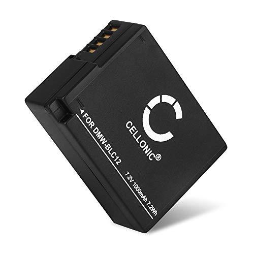 CELLONIC Batería de Repuesto DMW-BLC12 DMW-BLC12E per Panasonic Lumix DMC-FZ1000 DMC-FZ200 DMC-FZ2000 DMC-FZ300 DMC-G5 DMC-G6 DMC-G7 DMC-G70 DMC-G81, 1000mAh, Accu Sustitución Camara, Battery