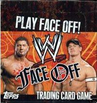 Wrestling Sammelkarten Face off  Trading Cards (5 Stück im Päckchen)