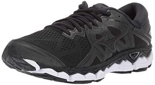 Mizuno Women's Wave Sky 2 Running Shoe, Black, 10.5 B US
