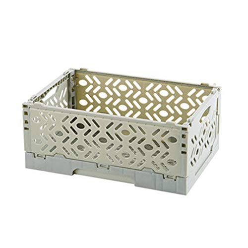 Willand Home Supplies - Cesta de almacenamiento de escritorio superimposable