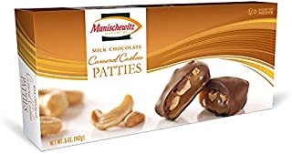 Manischewitz Milk Chocolate Caramel Cashew Patties, Kosher For Passover, 5 Ounce Box (Single)