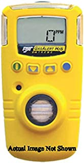 BW Technologies Yellow GasAlert Extreme Portable Hydrogen Cyanide Monitor With 3 V Li-Ion Battery, Data Logging And Internal Vibrating Alarm