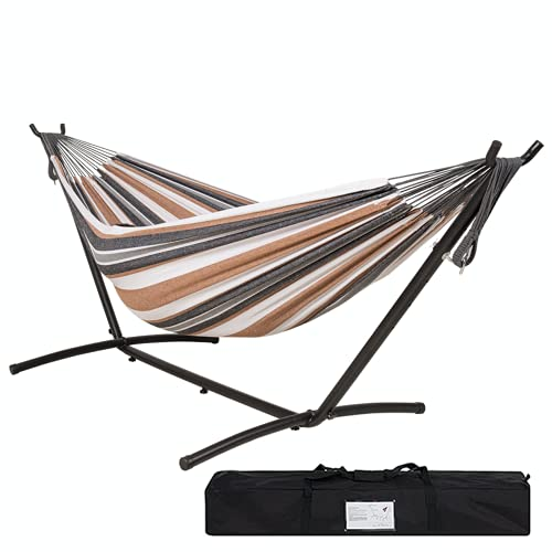 Buyagn Hammock with Stand,Adjustable Heavy Duty...