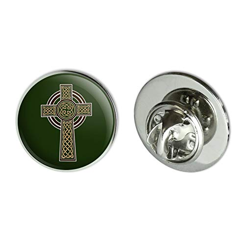 GRAPHICS & MORE Celtic Christian Cross Irish Ireland Metal 0.75' Lapel Hat Pin Tie Tack Pinback