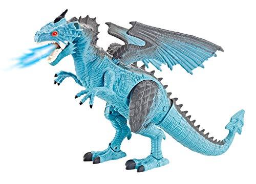 Dragão Thorn com Sopro de Gelo e Controle Remoto - DG051, Polibrinq