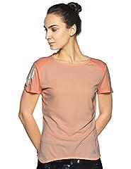 Adidas Response tee Camiseta de Manga Corta Color Naranja para Mujer