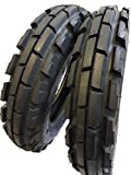 (2 TIRES + 2 TUBES) 6.00-16 ROAD CREW 8 PLY KNK33 Farm Tractor Tire 60016 6.00X16