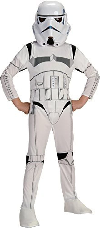 Boys  Stormtroopers Kids Costume Med 810 Halloween Costume by Morris Costumes