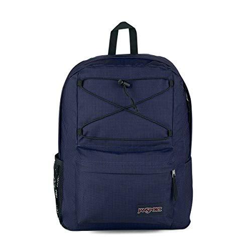 Jansport Flex Pack - School, Work, Travel, or Laptop Backpack with Mesh Water Bottle Pocket, Static Surf